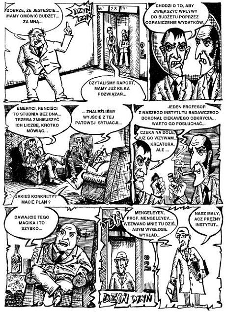 ilustracja reklamowa - komiks