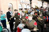 Fotografia eventowa - ochotnicy 1920 roku - rekonstrukcja, orkiestra harcerska