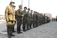 Fotografia eventowa - ochotnicy 1920 roku - rekonstrukcja, ochotnicy w Skierniewicach