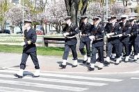 Fotografia reportażowa- 3 maja 2011 w Gdyni - Marynarka Wojenna