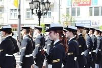 Fotografia reportażowa- 3 maja 2011 w Gdyni - Kobiety Marynarki Wojennej