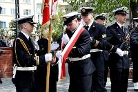 Fotografia reportażowa- 3 maja 2011 w Gdyni - Poczet sztandarowy Marynarki Wojennej