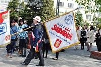 Fotografia reportażowa- 3 maja 2011 w Gdyni - Poczet sztandarowy Solidarności