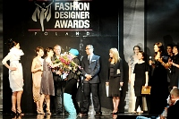 Fotografia eventowa - Fashion Designer Awards - laureaci na scenie