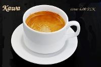 Fotografia napojów dla restauracji: filiżanka kawy