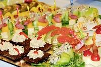 Fotografia żywności: koreczki, szwedzki stół