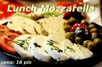 Fotografia żywności: lunch Mozzarella