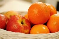 Fotografia żywności: owoce w koszyczku