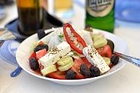 Fotografia żywności: sałatka grecka