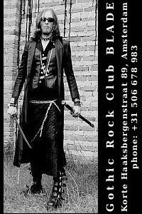 pocztówka reklamowa Gothic Club