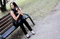 Sesja zdjęciowa: Justyna spogląda w prawo