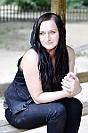 Sesja zdjeciowa: Justyna na ławeczce w parku