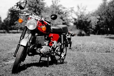 fotografia reklamowa: motocykl