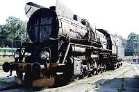 Parowozownia w Skierniewicach, stary parowóz